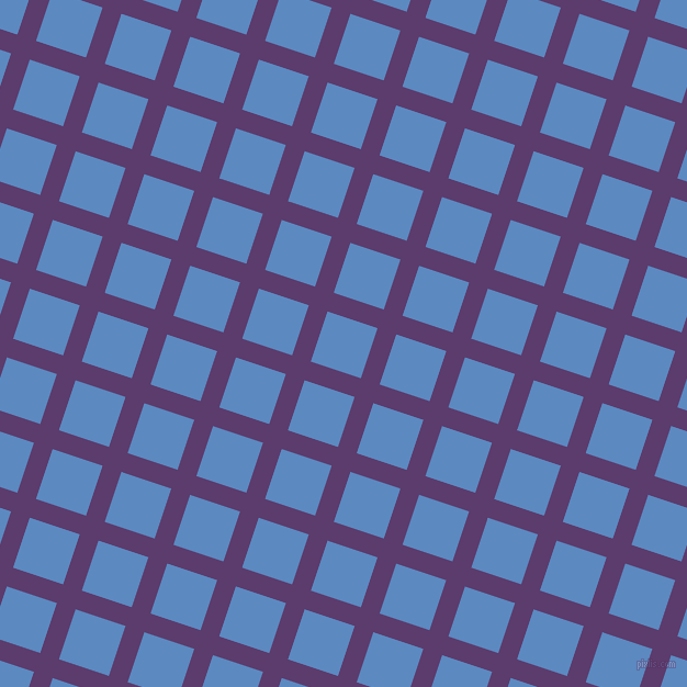 72/162 degree angle diagonal checkered chequered lines, 18 pixel line width, 48 pixel square size, Honey Flower and Danube plaid checkered seamless tileable