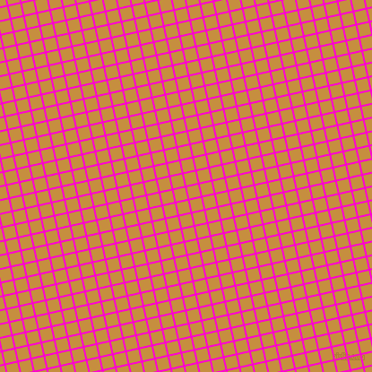 13/103 degree angle diagonal checkered chequered lines, 2 pixel lines width, 13 pixel square size, Hot Magenta and Anzac plaid checkered seamless tileable