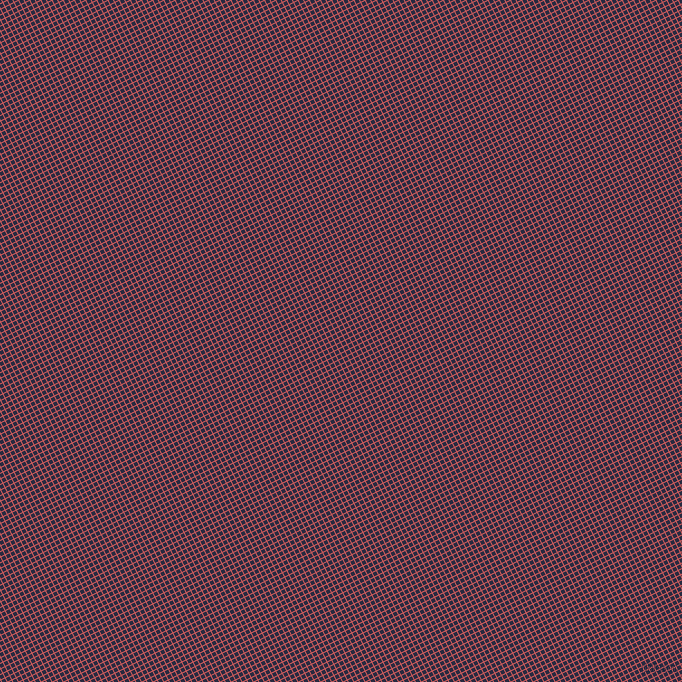 27/117 degree angle diagonal checkered chequered lines, 1 pixel lines width, 4 pixel square size, Indian Red and Valhalla plaid checkered seamless tileable