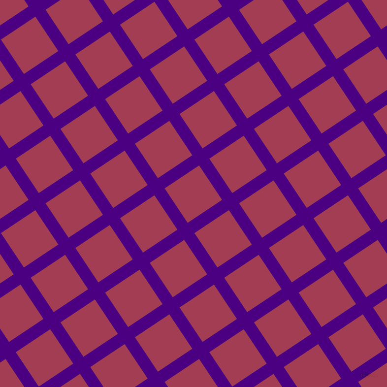 34/124 degree angle diagonal checkered chequered lines, 25 pixel lines width, 84 pixel square size, Indigo and Night Shadz plaid checkered seamless tileable