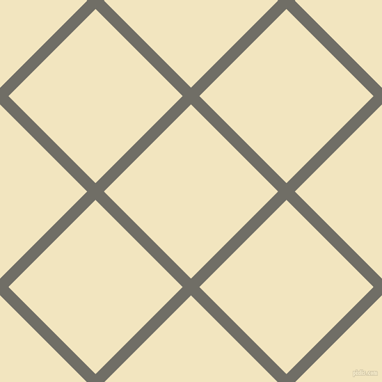 45/135 degree angle diagonal checkered chequered lines, 17 pixel lines width, 177 pixel square size, Ironside Grey and Half Colonial White plaid checkered seamless tileable