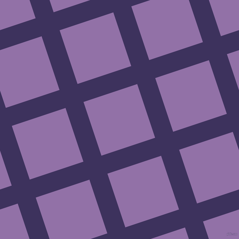 18/108 degree angle diagonal checkered chequered lines, 65 pixel lines width, 194 pixel square size, Jacarta and Ce Soir plaid checkered seamless tileable