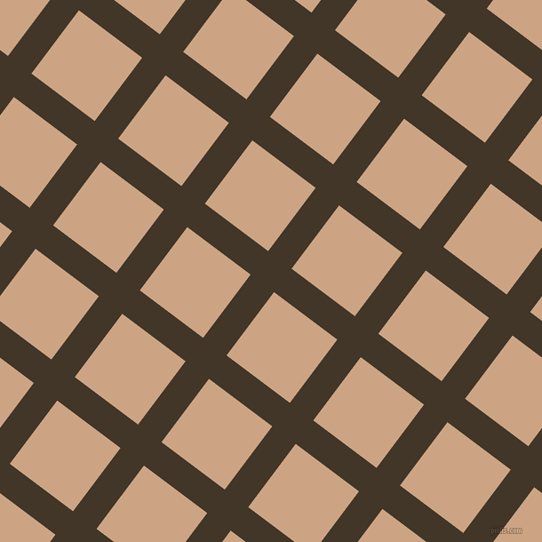 53/143 degree angle diagonal checkered chequered lines, 33 pixel lines width, 89 pixel square size, Jacko Bean and Cameo plaid checkered seamless tileable