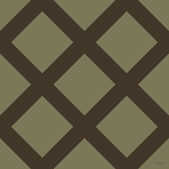 45/135 degree angle diagonal checkered chequered lines, 54 pixel lines width, 150 pixel square size, Jacko Bean and Kokoda plaid checkered seamless tileable