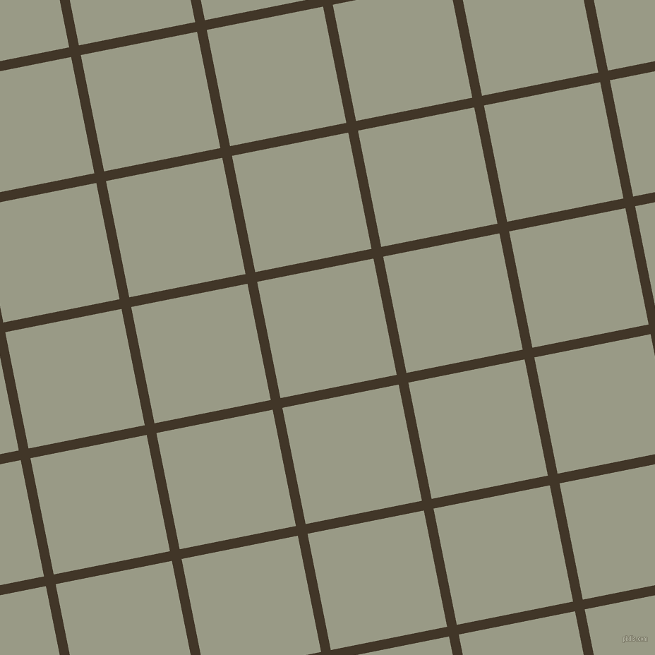 11/101 degree angle diagonal checkered chequered lines, 14 pixel line width, 168 pixel square size, Jacko Bean and Lemon Grass plaid checkered seamless tileable