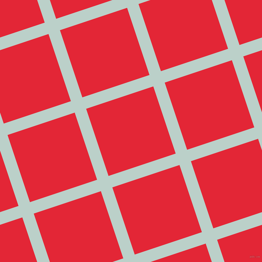 18/108 degree angle diagonal checkered chequered lines, 41 pixel line width, 241 pixel square size, Jet Stream and Alizarin plaid checkered seamless tileable