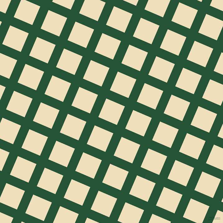 67/157 degree angle diagonal checkered chequered lines, 29 pixel line width, 65 pixel square size, Kaitoke Green and Dutch White plaid checkered seamless tileable