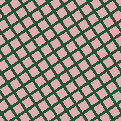 34/124 degree angle diagonal checkered chequered lines, 9 pixel line width, 28 pixel square size, Kaitoke Green and Pale Chestnut plaid checkered seamless tileable