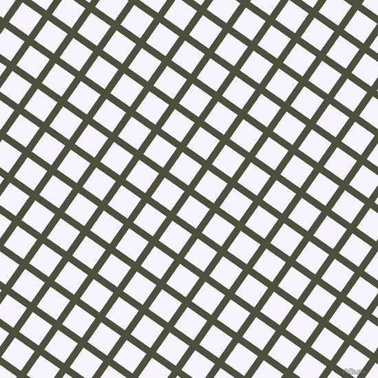 55/145 degree angle diagonal checkered chequered lines, 10 pixel lines width, 35 pixel square size, Kelp and Magnolia plaid checkered seamless tileable