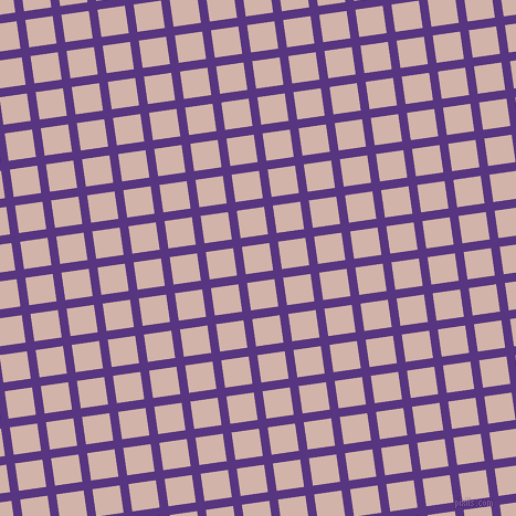 8/98 degree angle diagonal checkered chequered lines, 8 pixel line width, 25 pixel square size, Kingfisher Daisy and Clam Shell plaid checkered seamless tileable