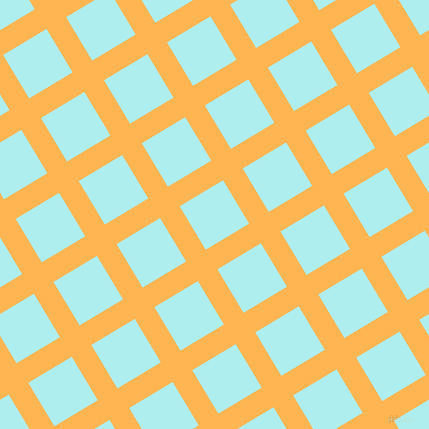 31/121 degree angle diagonal checkered chequered lines, 32 pixel line width, 71 pixel square sizeKoromiko and Pale Turquoise plaid checkered seamless tileable