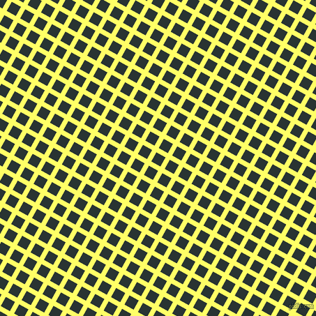 61/151 degree angle diagonal checkered chequered lines, 7 pixel line width, 15 pixel square size, Laser Lemon and Aztec plaid checkered seamless tileable