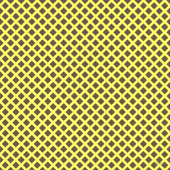 45/135 degree angle diagonal checkered chequered lines, 8 pixel lines width, 16 pixel square size, Laser Lemon and Domino plaid checkered seamless tileable