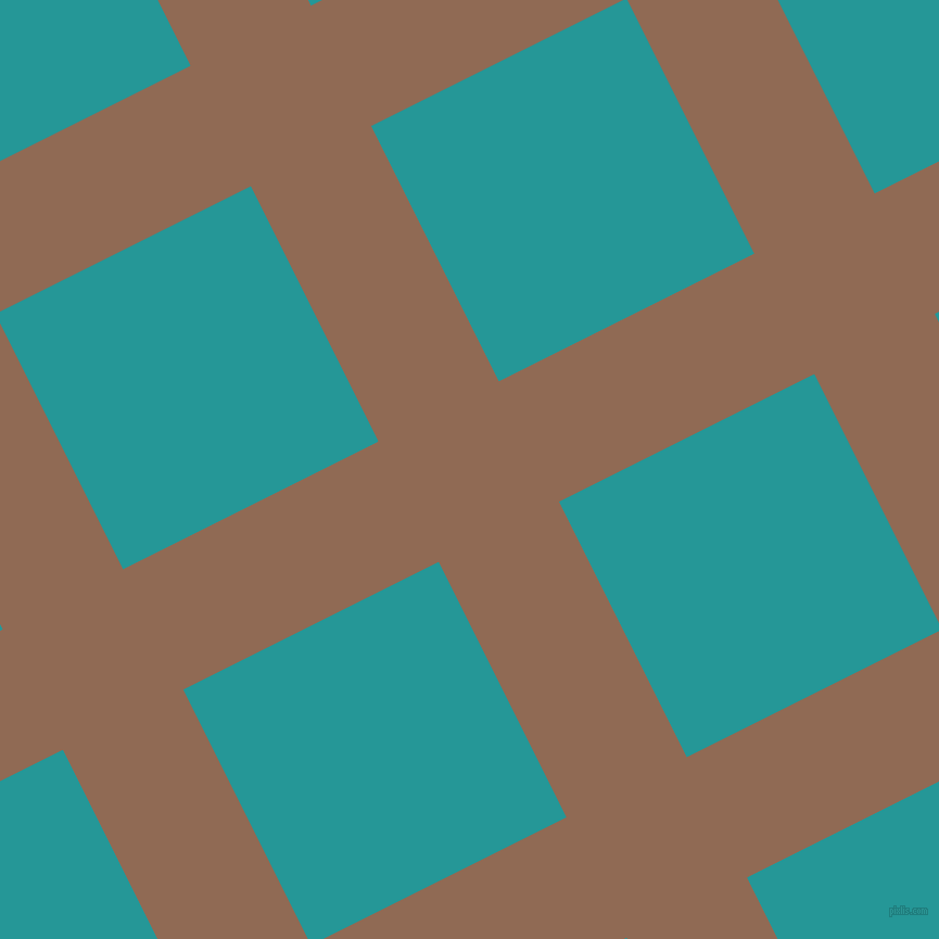 27/117 degree angle diagonal checkered chequered lines, 124 pixel lines width, 263 pixel square size, Leather and Java plaid checkered seamless tileable