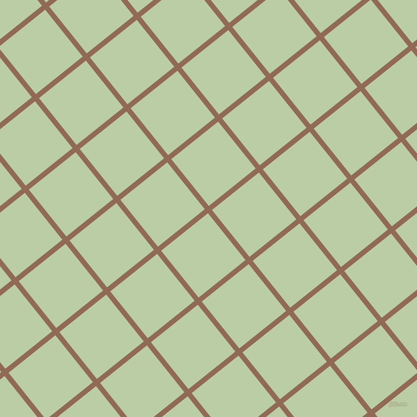 39/129 degree angle diagonal checkered chequered lines, 10 pixel line width, 117 pixel square size, Leather and Pixie Green plaid checkered seamless tileable