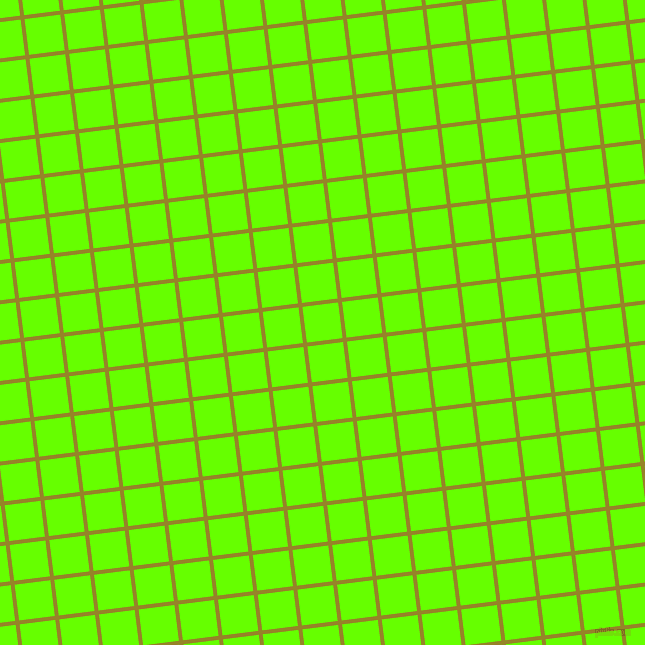7/97 degree angle diagonal checkered chequered lines, 4 pixel lines width, 36 pixel square size, Lemon Ginger and Bright Green plaid checkered seamless tileable