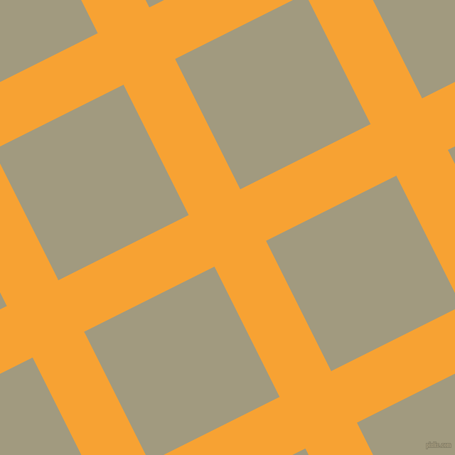 27/117 degree angle diagonal checkered chequered lines, 81 pixel lines width, 205 pixel square size, Lightning Yellow and Grey Olive plaid checkered seamless tileable