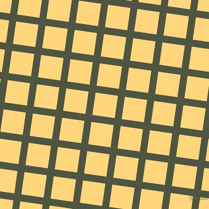 82/172 degree angle diagonal checkered chequered lines, 14 pixel lines width, 45 pixel square size, Lunar Green and Salomie plaid checkered seamless tileable