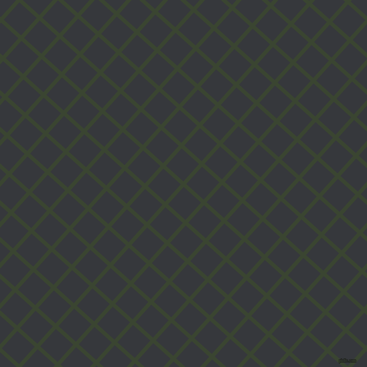 48/138 degree angle diagonal checkered chequered lines, 8 pixel line width, 48 pixel square size, Mallard and Vulcan plaid checkered seamless tileable