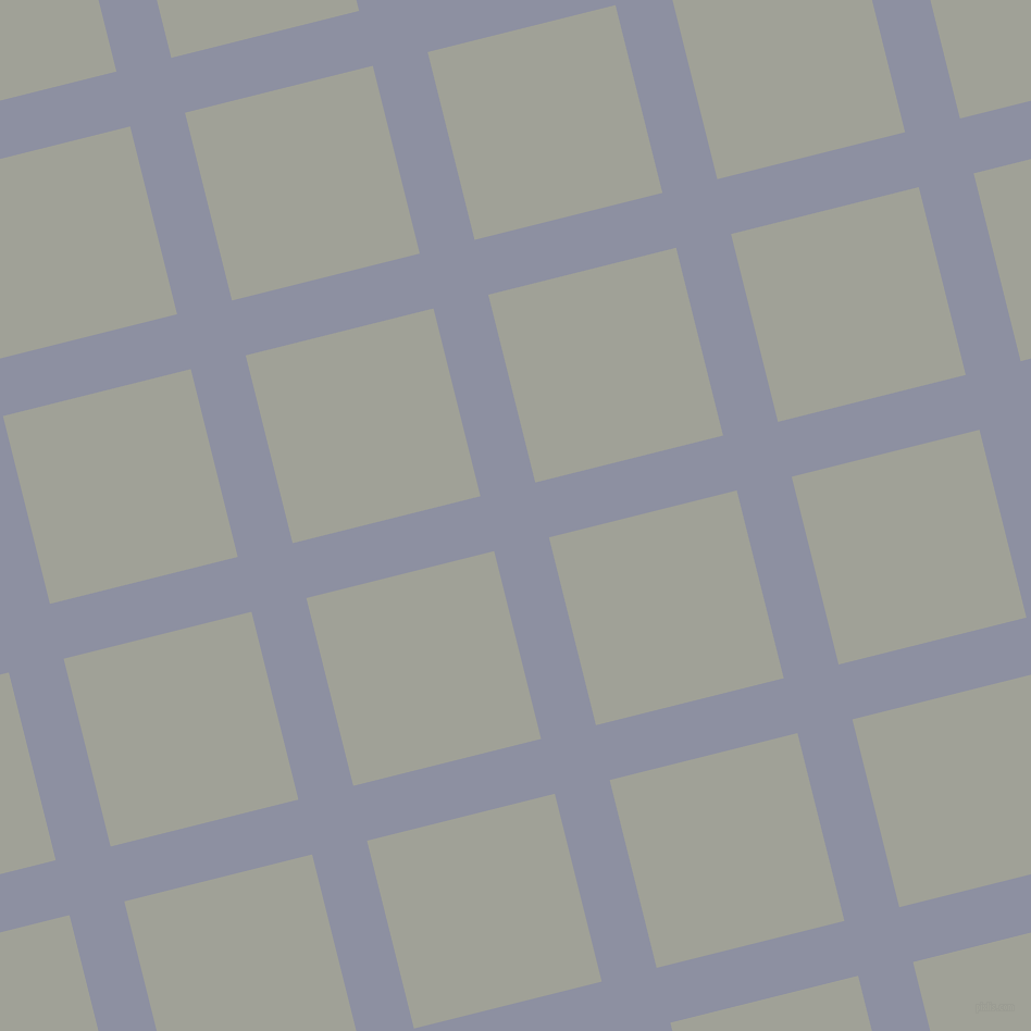 14/104 degree angle diagonal checkered chequered lines, 52 pixel lines width, 178 pixel square size, Manatee and Star Dust plaid checkered seamless tileable