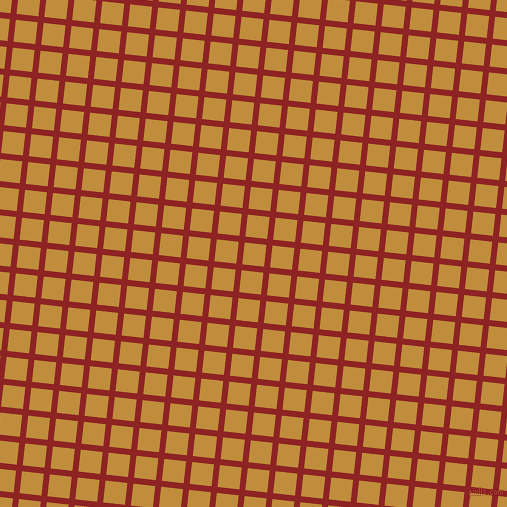 84/174 degree angle diagonal checkered chequered lines, 6 pixel lines width, 22 pixel square size, Mandarian Orange and Pizza plaid checkered seamless tileable