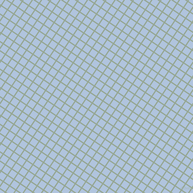 56/146 degree angle diagonal checkered chequered lines, 4 pixel lines width, 21 pixel square size, Mantle and Light Steel Blue plaid checkered seamless tileable