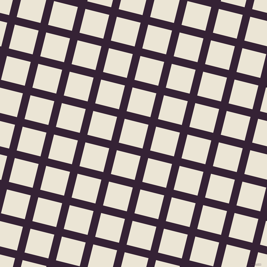 76/166 degree angle diagonal checkered chequered lines, 27 pixel lines width, 85 pixel square size, Mardi Gras and Cararra plaid checkered seamless tileable