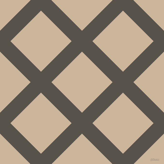 45/135 degree angle diagonal checkered chequered lines, 61 pixel line width, 179 pixel square size, Masala and Vanilla plaid checkered seamless tileable