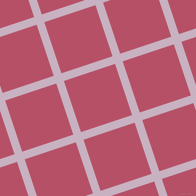 18/108 degree angle diagonal checkered chequered lines, 28 pixel line width, 186 pixel square size, Maverick and Blush plaid checkered seamless tileable