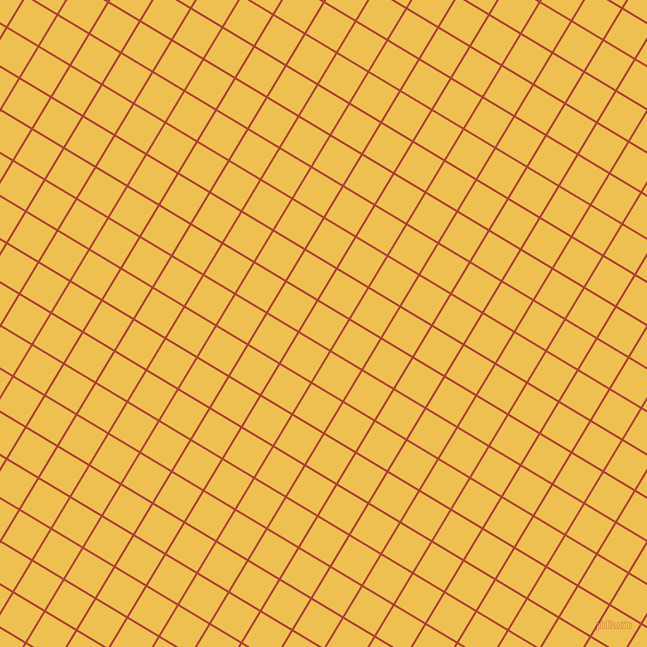 59/149 degree angle diagonal checkered chequered lines, 2 pixel lines width, 35 pixel square size, Medium Carmine and Cream Can plaid checkered seamless tileable