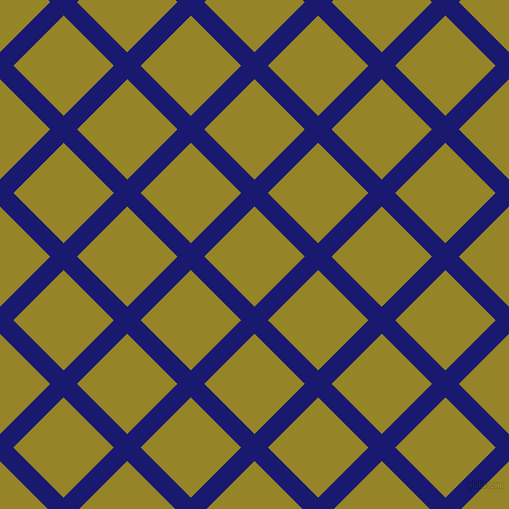 45/135 degree angle diagonal checkered chequered lines, 19 pixel lines width, 71 pixel square sizeMidnight Blue and Lemon Ginger plaid checkered seamless tileable