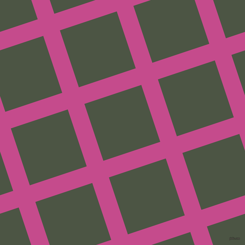 18/108 degree angle diagonal checkered chequered lines, 59 pixel lines width, 202 pixel square size, Mulberry and Cabbage Pont plaid checkered seamless tileable
