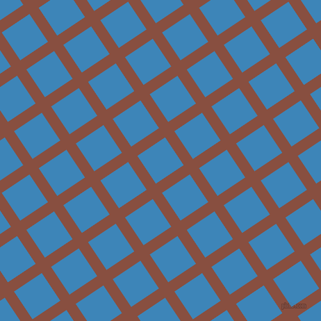 34/124 degree angle diagonal checkered chequered lines, 16 pixel line width, 48 pixel square size, Mule Fawn and Curious Blue plaid checkered seamless tileable