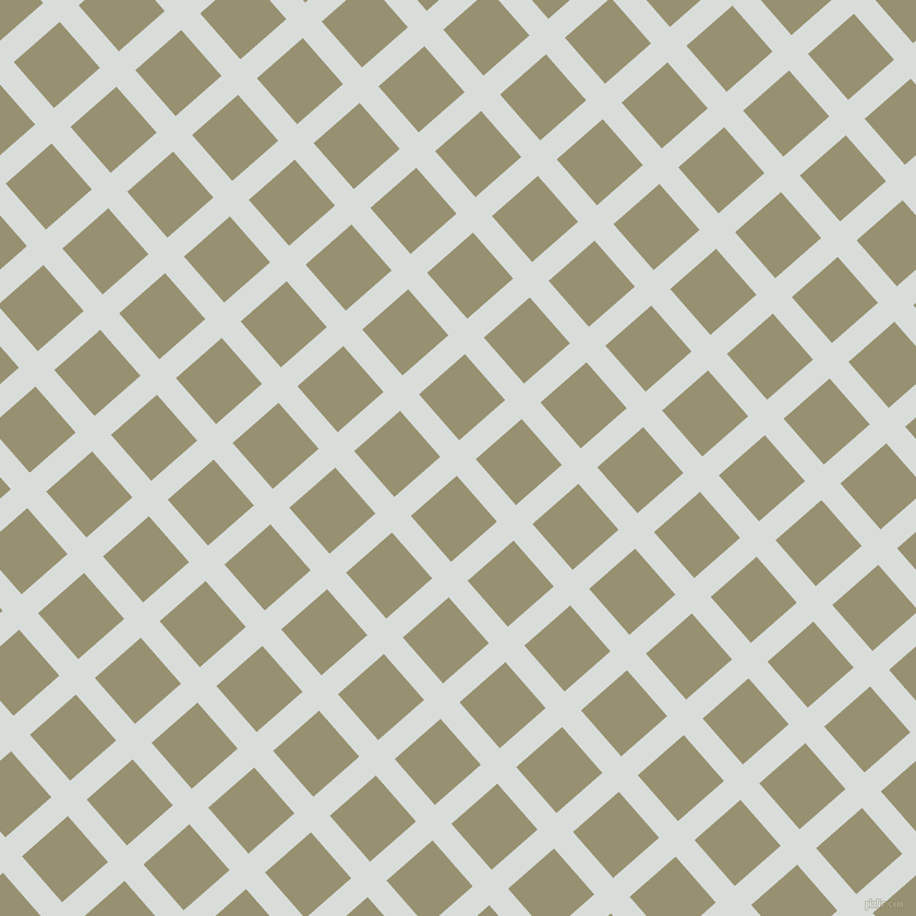 41/131 degree angle diagonal checkered chequered lines, 23 pixel line width, 56 pixel square size, Mystic and Gurkha plaid checkered seamless tileable