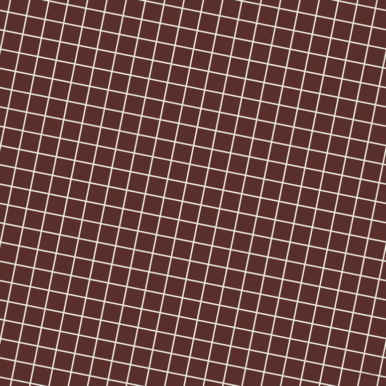 79/169 degree angle diagonal checkered chequered lines, 3 pixel line width, 35 pixel square size, Narvik and Moccaccino plaid checkered seamless tileable