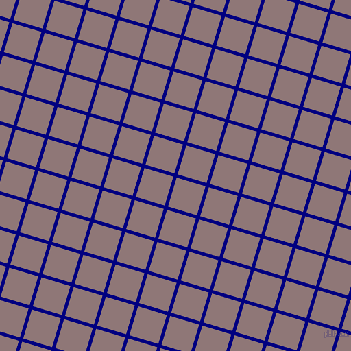 73/163 degree angle diagonal checkered chequered lines, 5 pixel lines width, 44 pixel square size, Navy and Bazaar plaid checkered seamless tileable