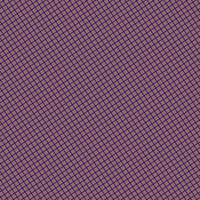 34/124 degree angle diagonal checkered chequered lines, 2 pixel line width, 13 pixel square size, Navy and Dark Chestnut plaid checkered seamless tileable