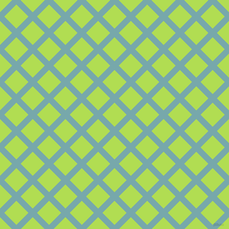 45/135 degree angle diagonal checkered chequered lines, 21 pixel lines width, 59 pixel square size, Neptune and Conifer plaid checkered seamless tileable