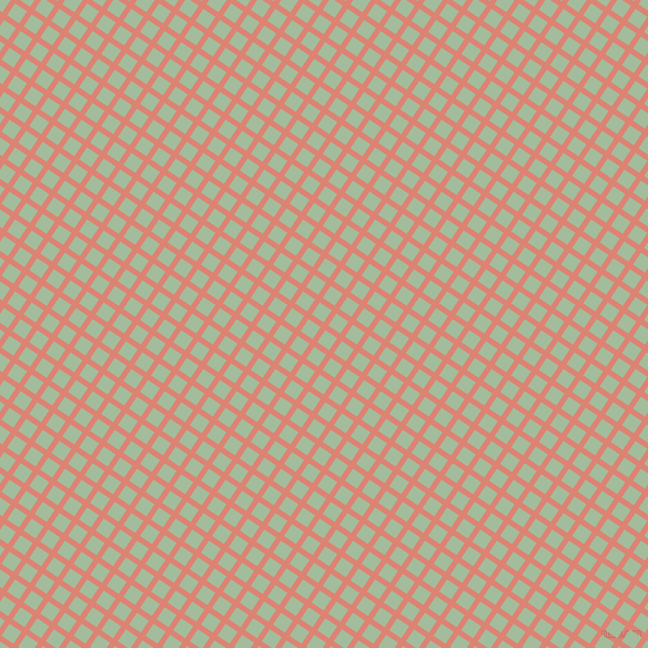 56/146 degree angle diagonal checkered chequered lines, 5 pixel line width, 13 pixel square size, New York Pink and Spring Rain plaid checkered seamless tileable