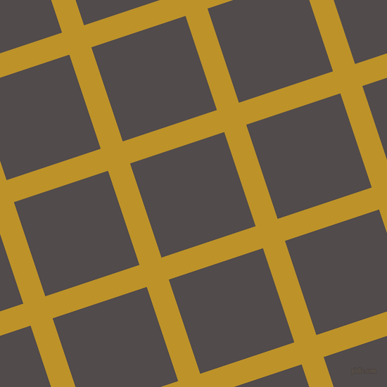 18/108 degree angle diagonal checkered chequered lines, 33 pixel lines width, 141 pixel square size, Nugget and Matterhorn plaid checkered seamless tileable