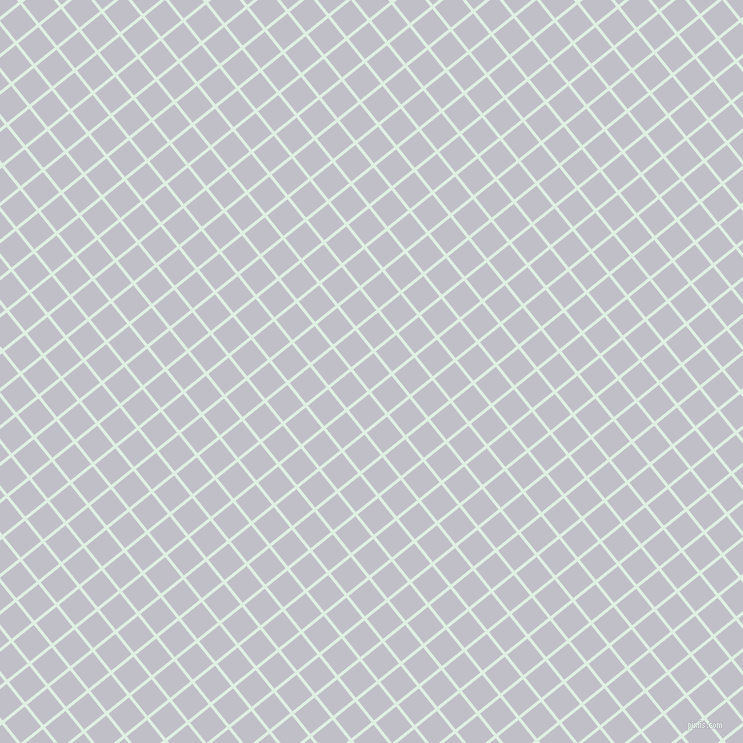 39/129 degree angle diagonal checkered chequered lines, 3 pixel line width, 26 pixel square size, Off Green and Ghost plaid checkered seamless tileable