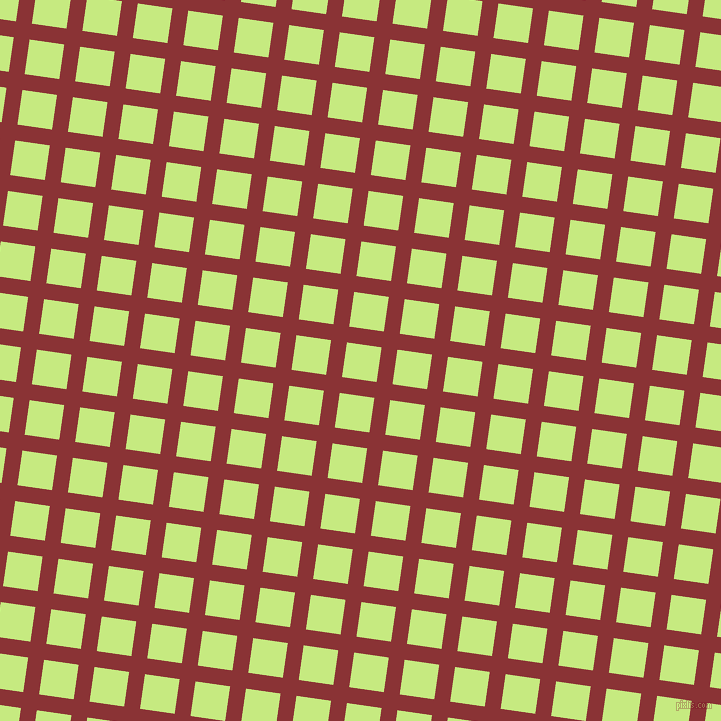 82/172 degree angle diagonal checkered chequered lines, 16 pixel line width, 35 pixel square size, Old Brick and Sulu plaid checkered seamless tileable