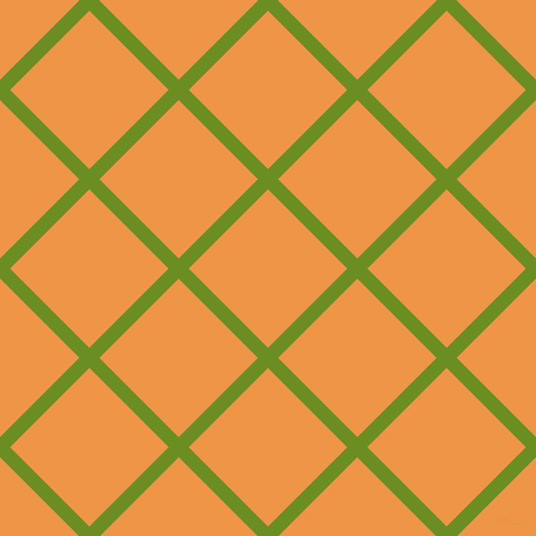 45/135 degree angle diagonal checkered chequered lines, 20 pixel lines width, 157 pixel square size, Olive Drab and Sea Buckthorn plaid checkered seamless tileable