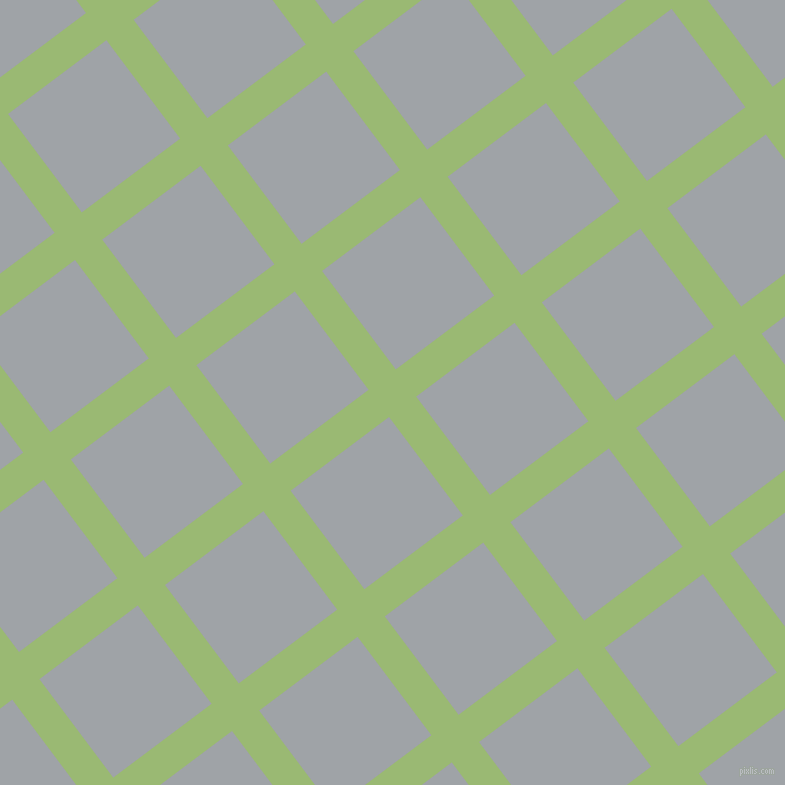 37/127 degree angle diagonal checkered chequered lines, 34 pixel line width, 123 pixel square size, Olivine and Grey Chateau plaid checkered seamless tileable