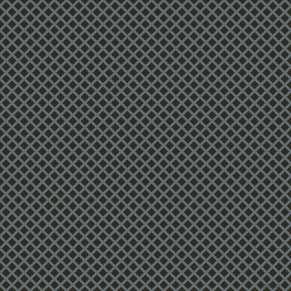 45/135 degree angle diagonal checkered chequered lines, 5 pixel line width, 12 pixel square size, Pale Sky and Karaka plaid checkered seamless tileable
