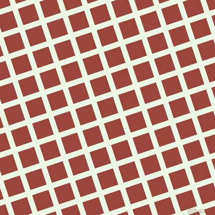 18/108 degree angle diagonal checkered chequered lines, 11 pixel line width, 34 pixel square size, Panache and Cognac plaid checkered seamless tileable