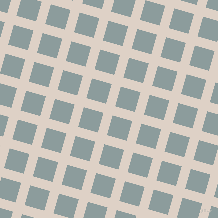 74/164 degree angle diagonal checkered chequered lines, 31 pixel line width, 67 pixel square size, Pearl Bush and Submarine plaid checkered seamless tileable