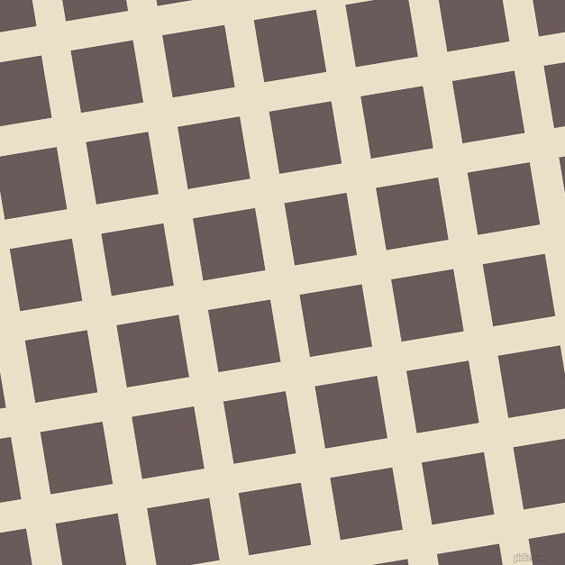9/99 degree angle diagonal checkered chequered lines, 33 pixel lines width, 70 pixel square size, Pearl Lusta and Zambezi plaid checkered seamless tileable