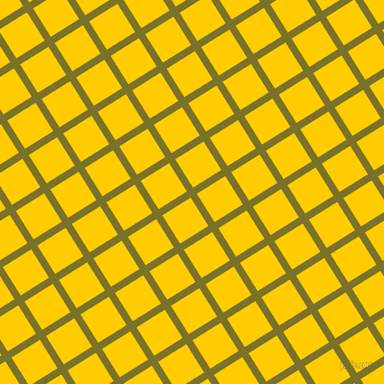 32/122 degree angle diagonal checkered chequered lines, 8 pixel lines width, 37 pixel square size, Pesto and Tangerine Yellow plaid checkered seamless tileable