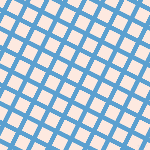 63/153 degree angle diagonal checkered chequered lines, 15 pixel lines width, 41 pixel square size, Picton Blue and Chablis plaid checkered seamless tileable